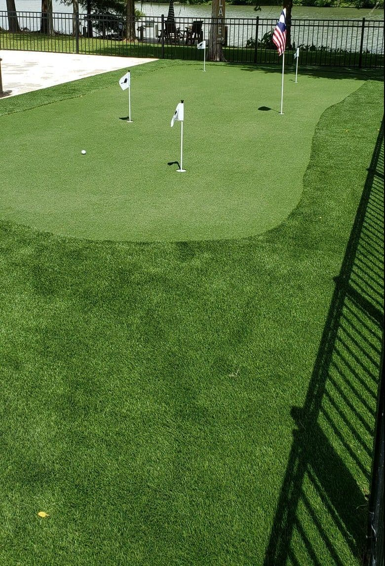 professional putting greens by helms landscaping