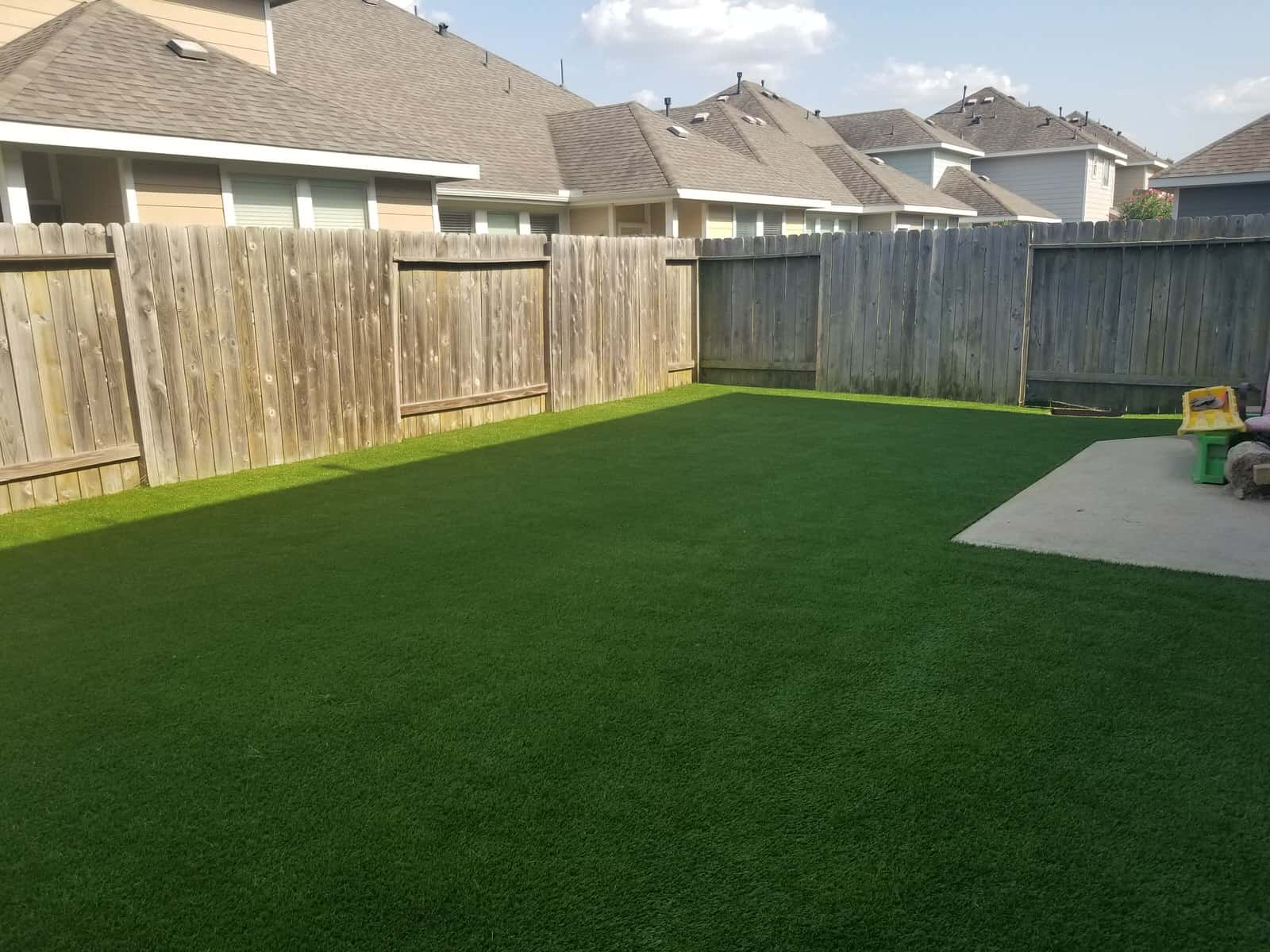 helms professional backyard synthetic grass complete