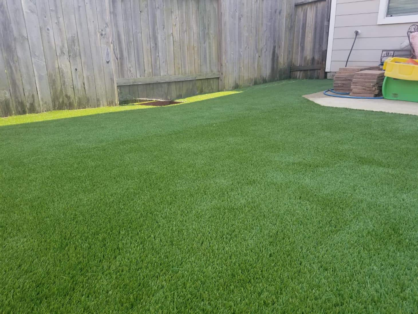 helms backyard synthetic grass