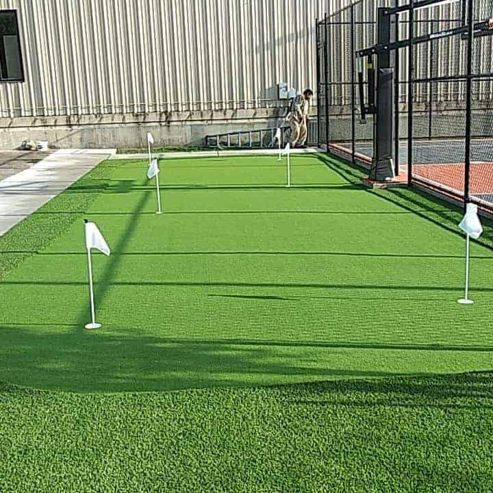 helms recreational sports putting green area