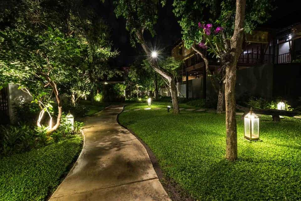 Fx Lighting Helms Landscape Design Houston Texas