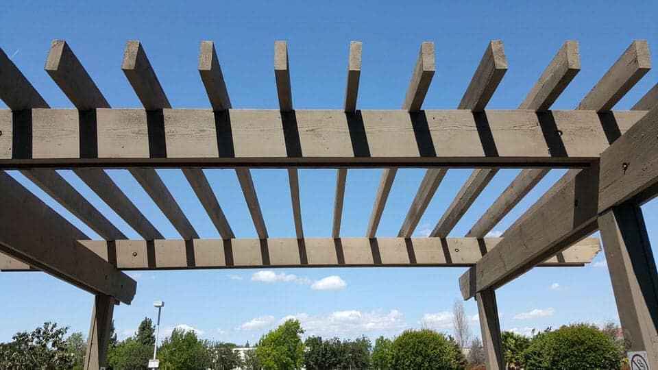 pergola shaded structure